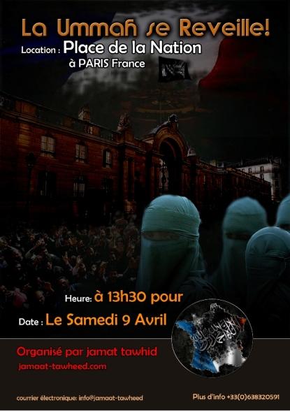 France flyer front