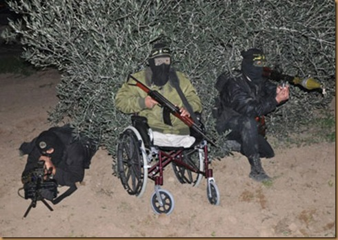 hamas handicapé